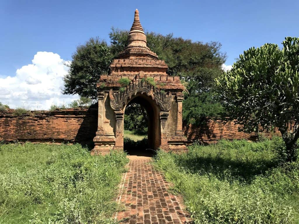Ruin in Bagan