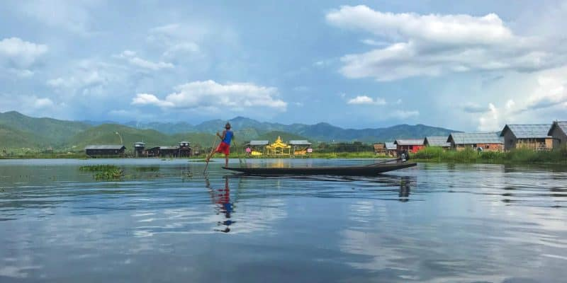 Traditional Fisherman Inle Lake Myanmar