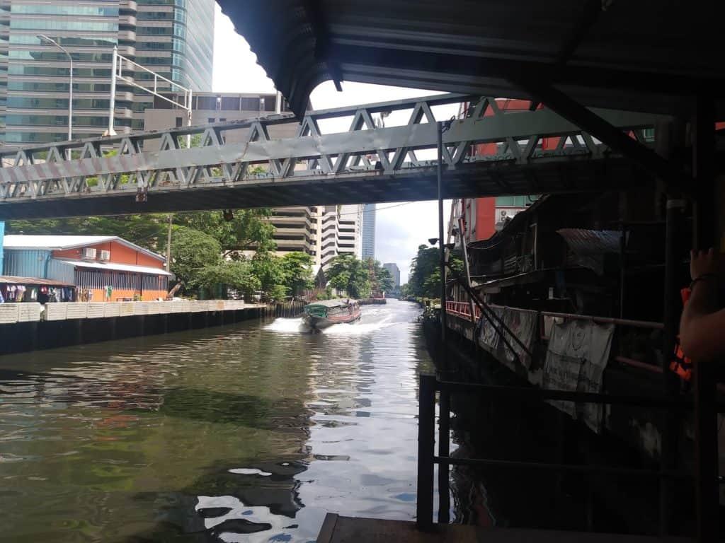 Khlong canal taxi bangkok