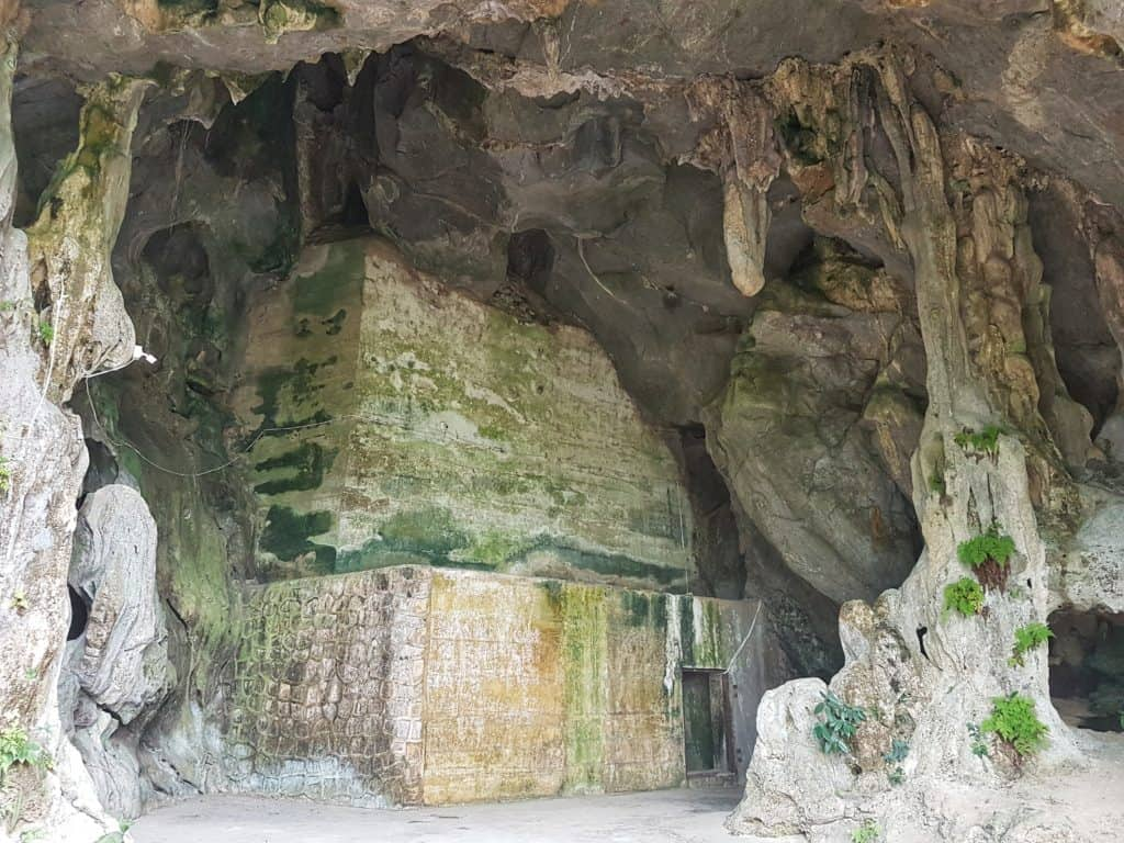 One of the Exits of the Hospital Cave, Cat Ba Island, Vietnam