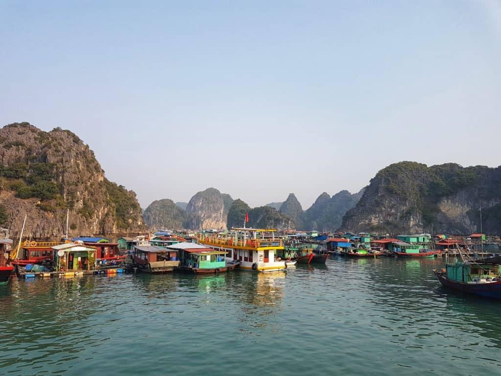 Cai Beo Fishing Village, Lan Ha Bay, Vietnam