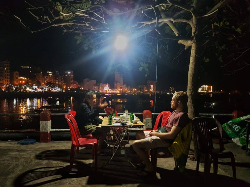 Eating By The Sea at Phi Nhung Quan Restaurant