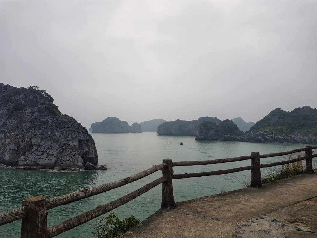 Cat Co Walk, Cat Ba Island, Vietnam