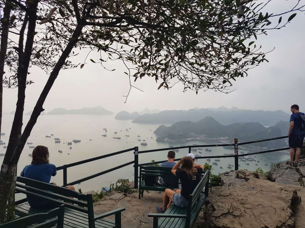 The Sunset Point at Cannon Fort, Cat Ba Island, Vietnam