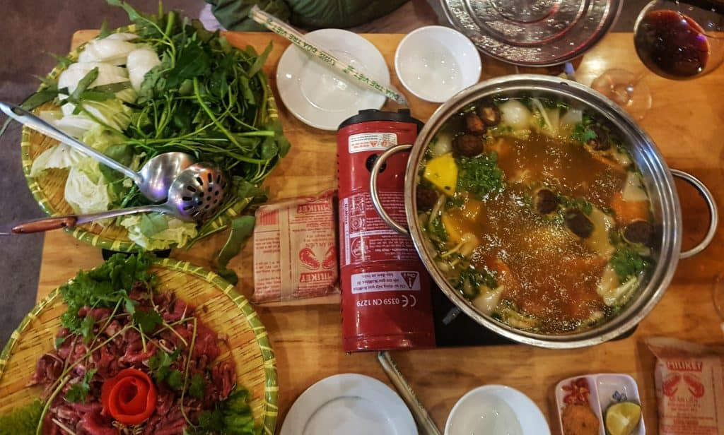 Hot Pot at Quiri Pub Cocktail and Restaurant