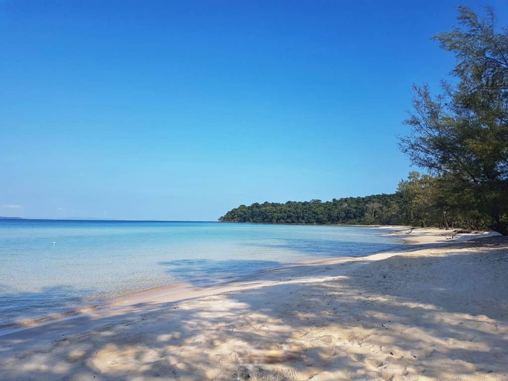 The Beach, Clear Water Bay, Koh Rong Sanloem, Cambodia