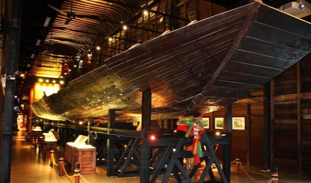Wooden Boat Discovered, Siriraj Bimuksthan Museum, Bangkok