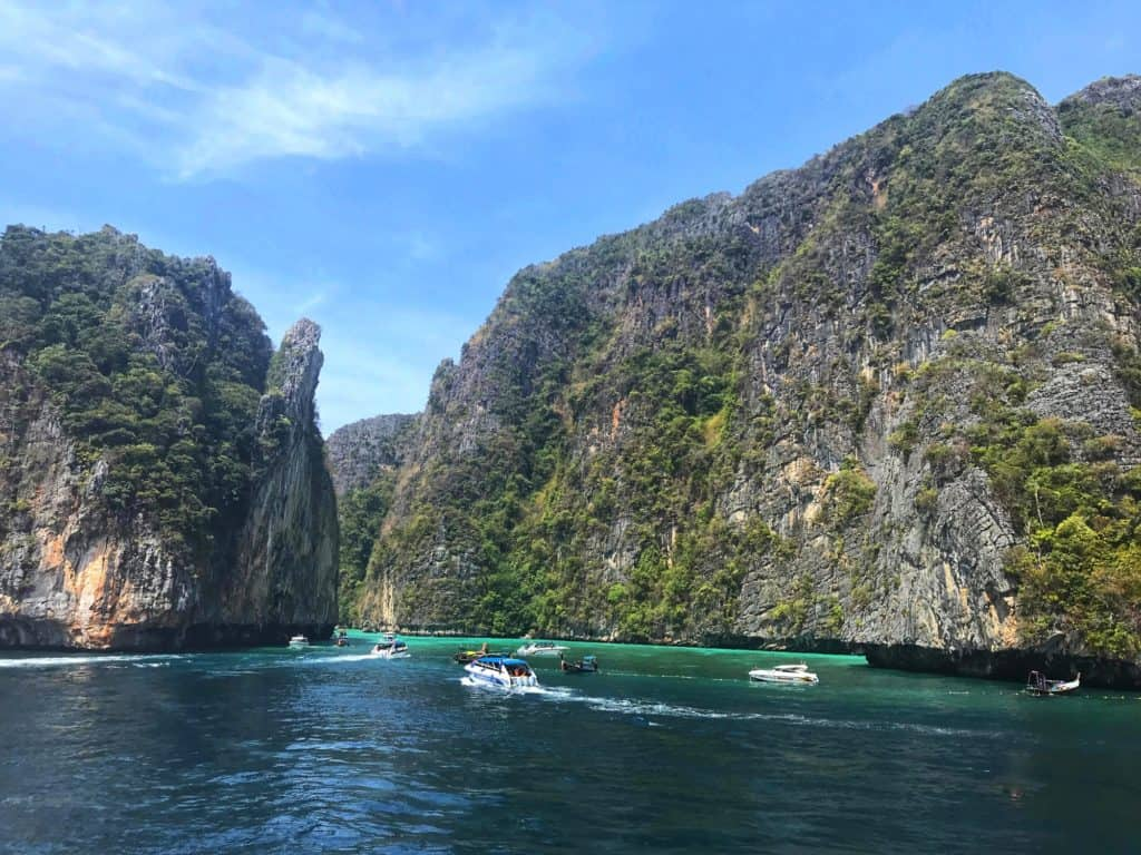 Boat Tour to Koh Phi Phi Lee