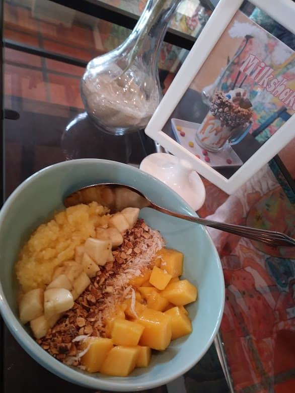Breakfast bowl at Beach Buns, Laem Mae Phim, Rayong