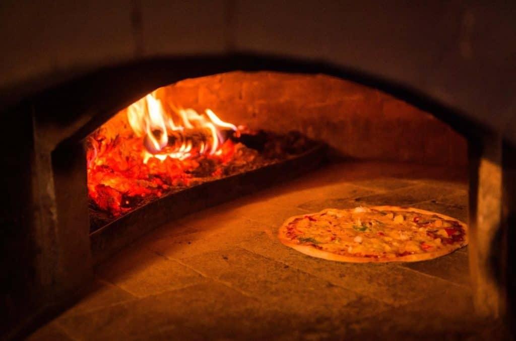 Villa Bali Pizzeria and their Italian oven